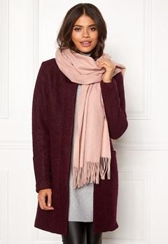 ONLY Nala Weaved Wool Scarf Misty Rose Bubbleroom.eu