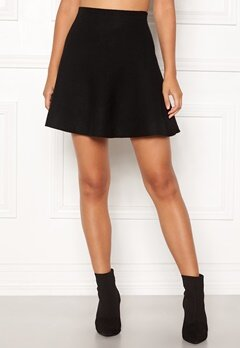 ONLY New Dallas Skirt Black Bubbleroom.eu