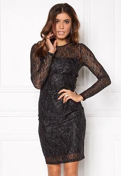 ONLY New Lisa L/S Dress Black Bubbleroom.eu