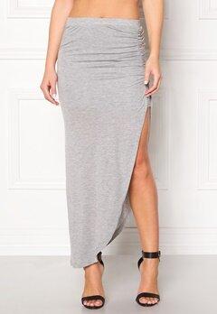 ONLY New Ria Skirt Light Grey Melange Bubbleroom.eu