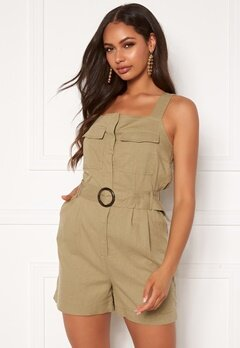 ONLY Noreen-Bibs Playsuit Martini Olive Bubbleroom.eu