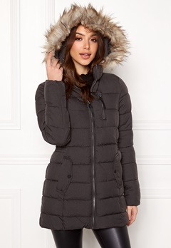 ONLY North Nylon Coat Black Bubbleroom.eu