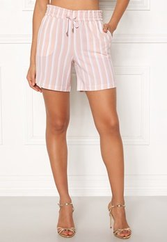 ONLY Piper Shorts Rose Dust/Stripes Bubbleroom.eu