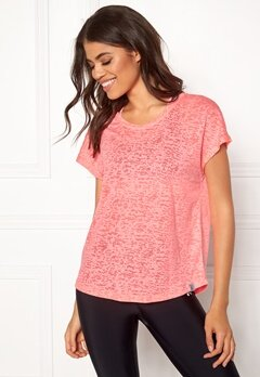 ONLY PLAY Beate Loose SS Tee Lipstick Pink Bubbleroom.eu