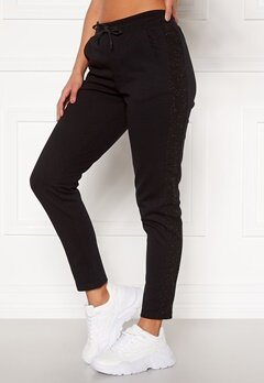 ONLY PLAY Bellatrix Glitter Sweat Pants Black Bubbleroom.eu
