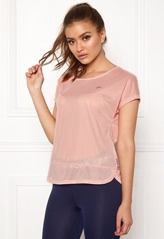 ONLY PLAY Jasmin Training Loose Tee Silver Pink Bubbleroom.eu