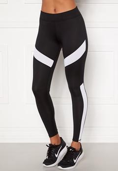 ONLY PLAY Pady Athl Leggings Black Detail: White Bubbleroom.eu