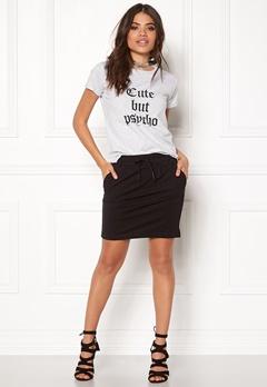 ONLY Poptrash Easy Skirt Black Bubbleroom.eu