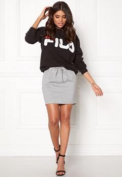 ONLY Poptrash Easy Skirt Light Grey Melange Bubbleroom.eu