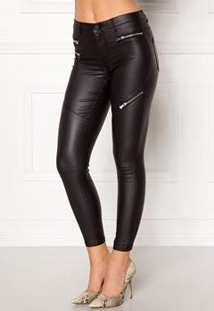 ONLY Royal Zip Rock Jeans Black Bubbleroom.eu