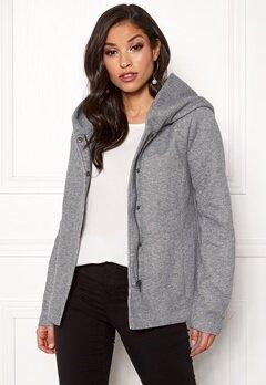 ONLY Sedona Short Jacket Light Grey Melange Bubbleroom.eu