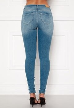 ONLY Shape Life Reg Sk Jeans Light Blue Denim Bubbleroom.eu
