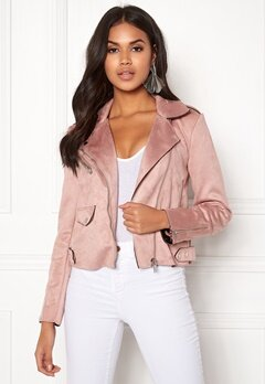 ONLY Sherry Bonded Biker Adobe Rose Bubbleroom.eu