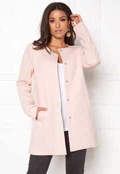 ONLY Sidney Light Coat Rose Quartz Bubbleroom.eu