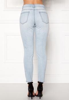 Jacqueline de Yong Silver Boyfriend Jeans Light Blue Denim Bubbleroom.eu