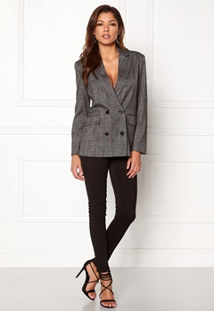 ONLY Slash Double Blazer Medium Grey Melange Bubbleroom.eu