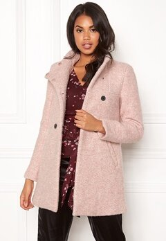 ONLY Sophia Boucle Wool Coat Moonlight/Melange Bubbleroom.eu