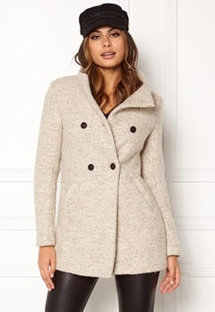 ONLY Sophia Noma Wool Coat Simply Taupe Bubbleroom.eu