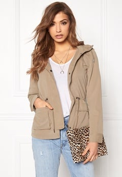 ONLY Starlight Spring Parka Desert Taupe Bubbleroom.eu