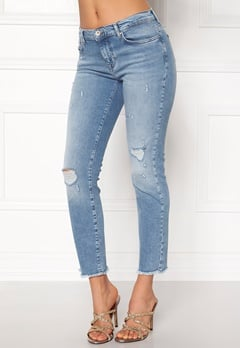 ONLY Sui Reg Ankle Jeans Light Blue Denim Bubbleroom.eu
