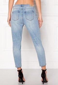 ONLY Tonni BF Destroy Jeans Medium Blue Denim Bubbleroom.eu