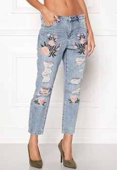 ONLY Tonni Jeans Light Blue Denim Bubbleroom.eu