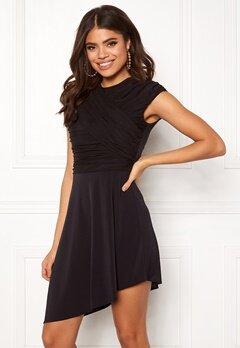 ONLY True S/L Drappy Dress Black Bubbleroom.eu