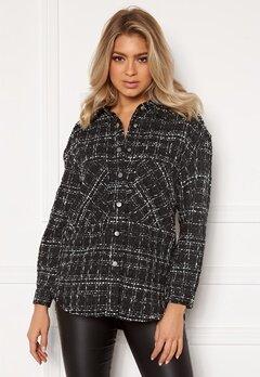 ONLY Valeria L/S Shirt Black Bubbleroom.eu