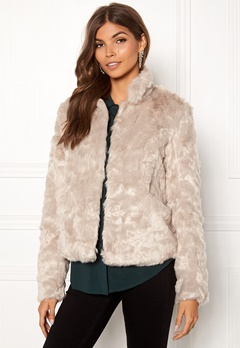 ONLY Viva Fur Jacket Pure Cashmere Bubbleroom.eu