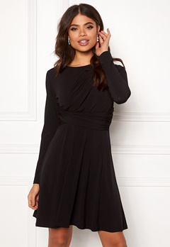 ONLY Xenia L/S Dress Black Bubbleroom.eu