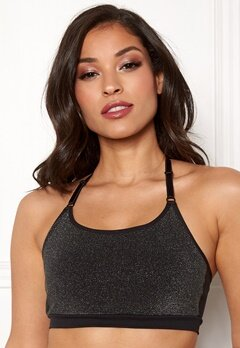 ONLY PLAY Sparkle Seamless Bra Black Bubbleroom.eu