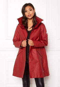 Odd Molly Outstanding Rainjacket Deep Red Bubbleroom.eu