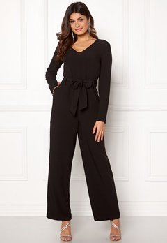 Pieces Albia LS Jumpsuit Black Bubbleroom.eu