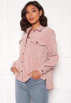 Pieces Effi LS Shirt Ash Rose Bubbleroom.eu