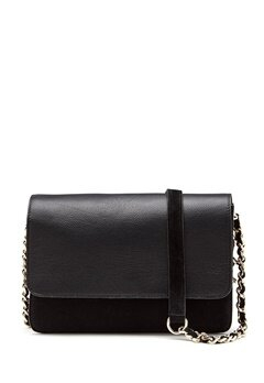 Pieces Felicity Suede Cross Body Black Bubbleroom.eu