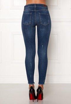 Pieces Five Delly MW B187 Jeans Medium Blue Denim Bubbleroom.eu