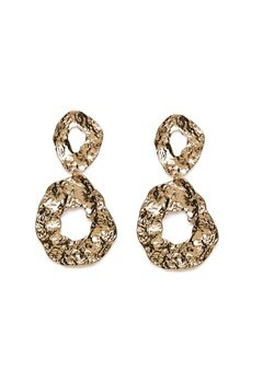 Pieces Frija Earrings Gold Colour Bubbleroom.eu