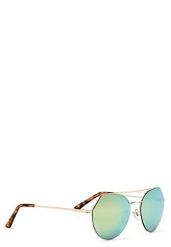 Pieces Gili Sunglasses Rose Gold Colour Bubbleroom.eu