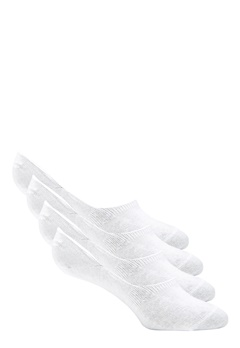 Pieces Gilly Footies 4 Pack Bright White Bubbleroom.eu