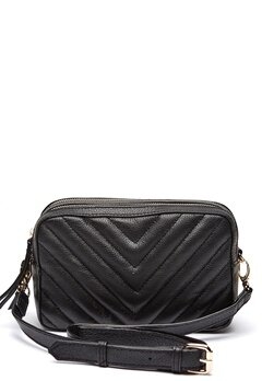 Pieces Gitana Leather Crossbody Black Bubbleroom.eu