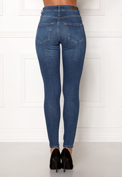 Pieces Highfive Delly B184 Jeans Medium Blue Denim Bubbleroom.eu