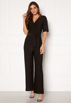 Pieces Infina 2/4 Jumpsuit Black Bubbleroom.eu