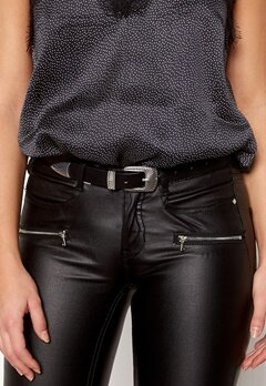 Pieces Janey Jeans Belt Black/Silver Bubbleroom.eu