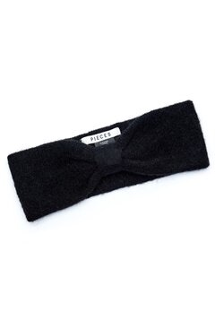 Pieces Josefine Wool Headband Black Bubbleroom.eu