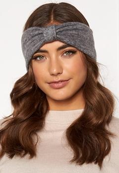 Pieces Josefine Wool Headband Medium Grey Melange Bubbleroom.eu