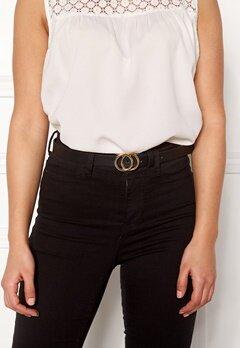 Pieces Karren Jeans Belt Black-Gold Bubbleroom.eu