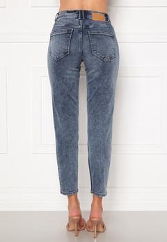 Pieces Lili Slim MW Jeans Light Blue Denim Bubbleroom.eu
