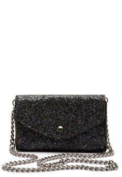 Pieces Line Crossbody Bag Black Bubbleroom.eu