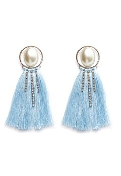 Pieces Mabelle Earrings Silver Colour Bubbleroom.eu