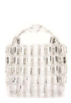 Pieces Milka Pearl Bag Bright White Bubbleroom.eu